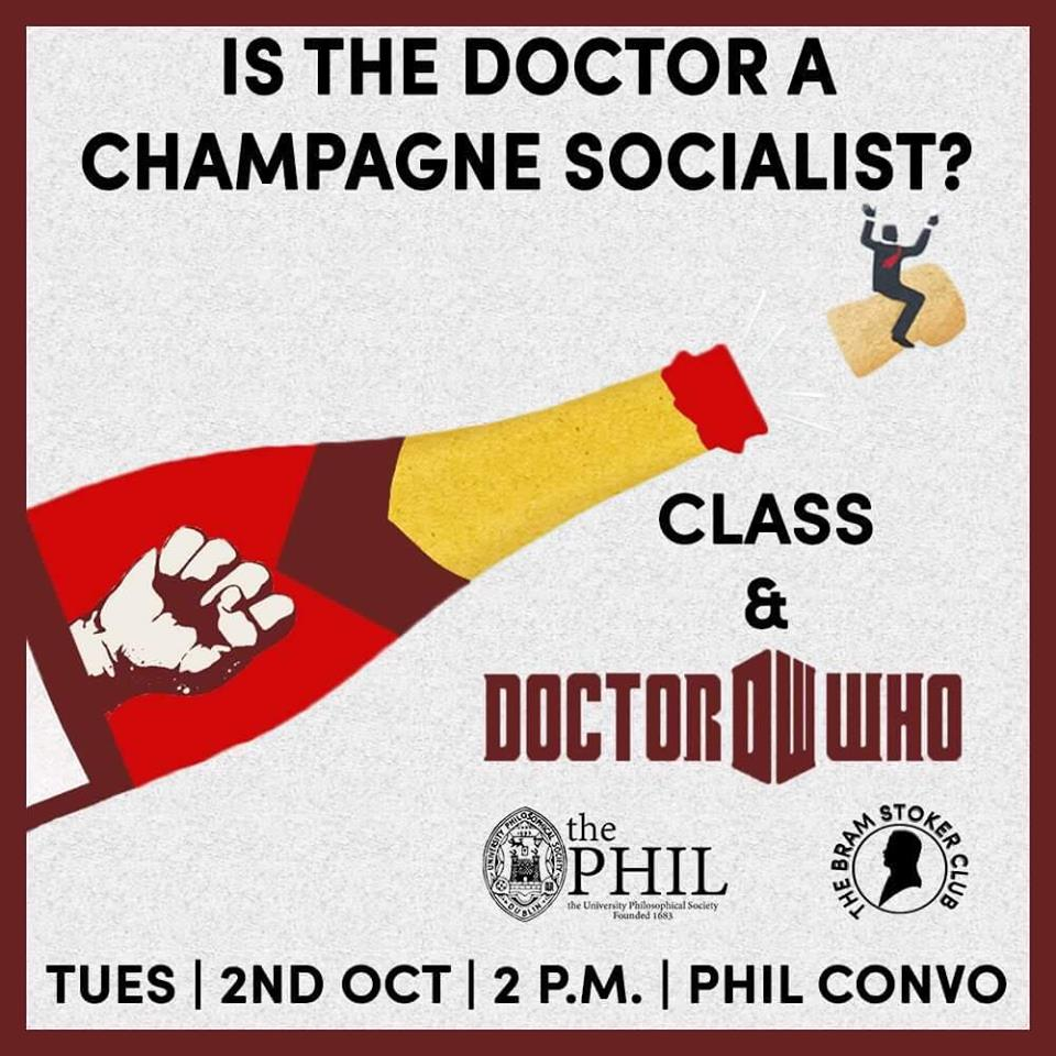 Is the Doctor a Champagne Socialist? Class and Doctor Who